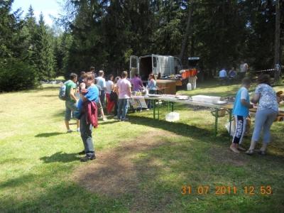 FESTA DELLE ASSOCIAZIONI - LOC. 7 LARICI - COREDO (TN) - 31.07.2011 11