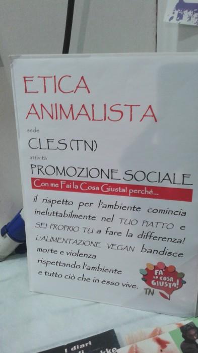 ETICA ANIMALISTA A FA LA COSA GIUSTA 2014 96