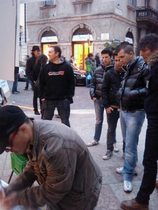 TRENTO - 12.03.2011 - TAVOLO INFORMATIVO SULLA VIVISEZIONE 118
