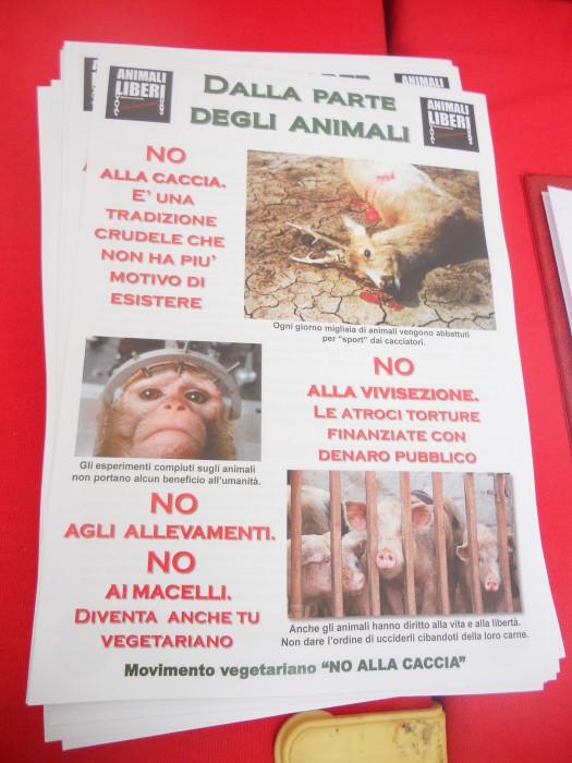 03 dicembre 2011 Trento fiaccolata per denunciare lo sterminio degli animali nel periodo natalizio (e non solo!) 320