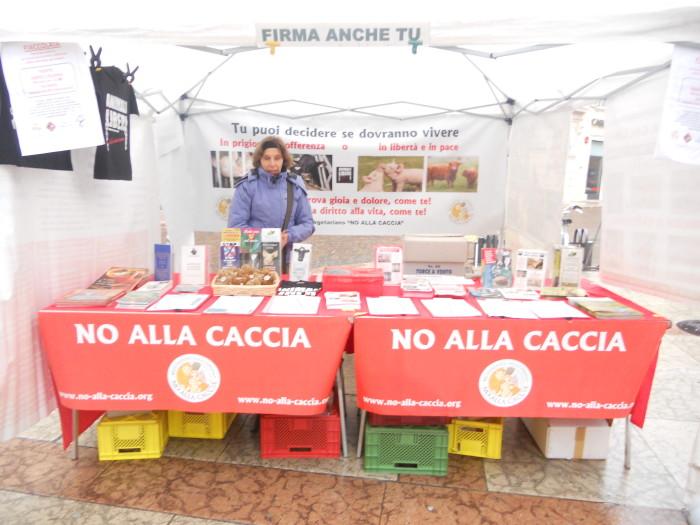 03 dicembre 2011 Trento fiaccolata per denunciare lo sterminio degli animali nel periodo natalizio (e non solo!) 355