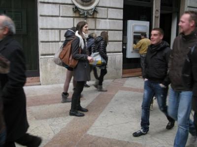 TRENTO - 12.03.2011 - TAVOLO INFORMATIVO SULLA VIVISEZIONE 25