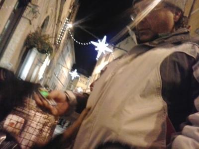 TRENTO 24.11.2012 - TAVOLO INFORMATIVO CONTRO LE PELLICCE - E PRESIDIO LAV TRENTINO ANTI PELLICCE - CONFERENZA CON MARGHERITA HACK - TAIO 23.11.2012 9