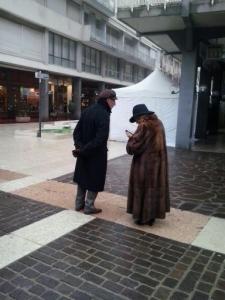 Campagna contro le pellicce - Trento dicembre 2012 2