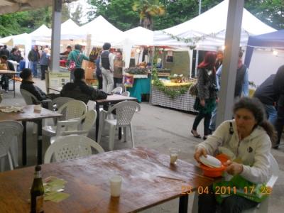 VEGAN FEST 2011- 22/25 APRILE - CAMARIORE 81