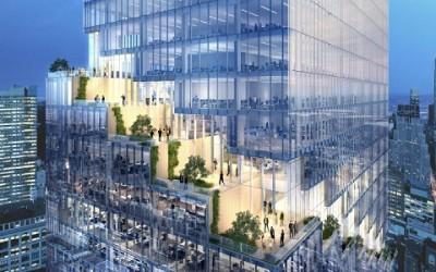 Una torre con giardini ad ogni piano sorgerà a Manhattan 1