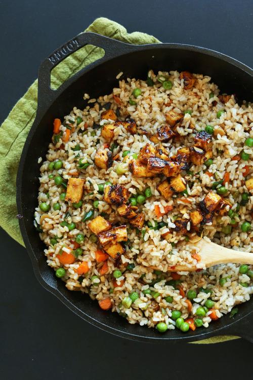 vegan-yums: Easy vegan fried rice / Recipe 15