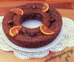 Torta con Fave di Cacao e Arancia 8