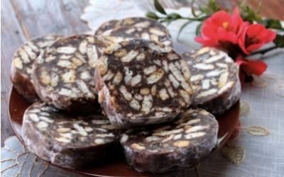 Salame di cioccolato fondente: ricetta ed ingredienti 1