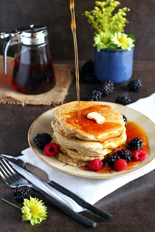 garden-of-vegan: Vegan Whole Wheat Pancakes (recipe via... 7