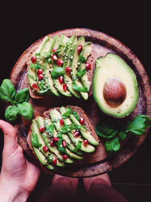 aspoonfuloflissi: Avocado toast is ❤️ with fresh basil, herb... 10