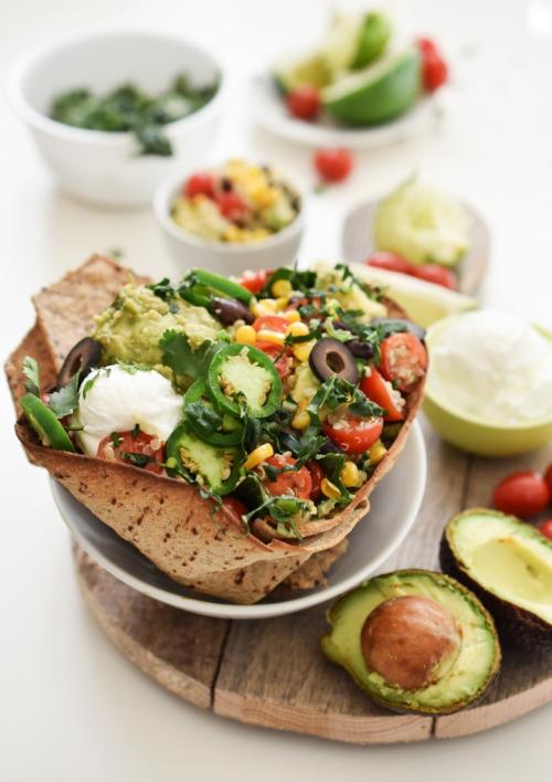 vegan-yums: Baked taco salad / Recipe 28