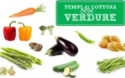 Quali sono i tempi di cottura verdure? 4