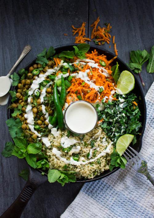 veganfoodtolove: Spicy Vegan Chickpea Moroccan Couscous 7