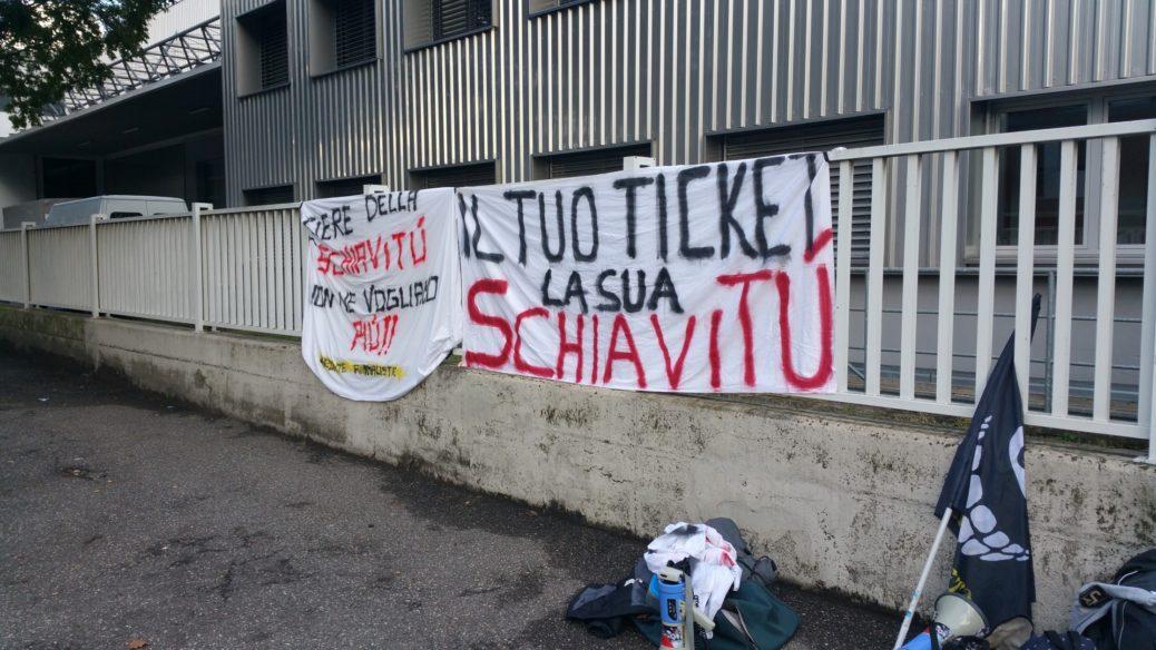 Fronte animalista Bolzano - Manifestazione Porte aperte 10 anni della casa della zootecnia 2