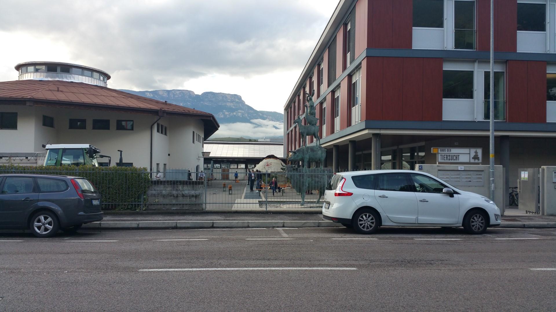 Fronte animalista Bolzano - Manifestazione Porte aperte 10 anni della casa della zootecnia 24