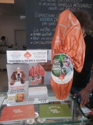 Eticanimalista c/o Black Sheep pasticceria bio vegan - gelati veg 2017 e informazione vegan - 08.04.2017 19