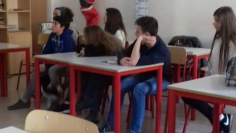 20.02.2018 - Incontro con alcuni ragazzi del liceo Da Vinci di Trento per parlare delle motivazioni del veganismo 33