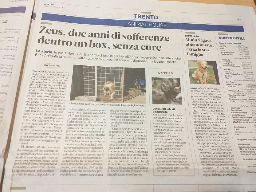Etica Animalista - associazione antispecisti e vegani a Trento 17